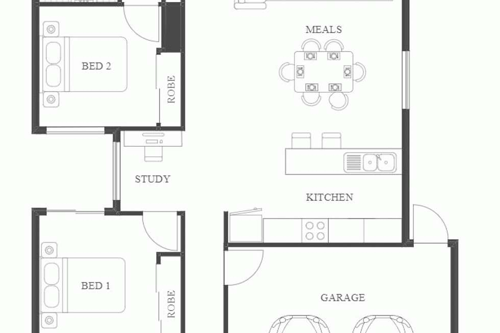 Floorplan of Homely other listing, Address available on request