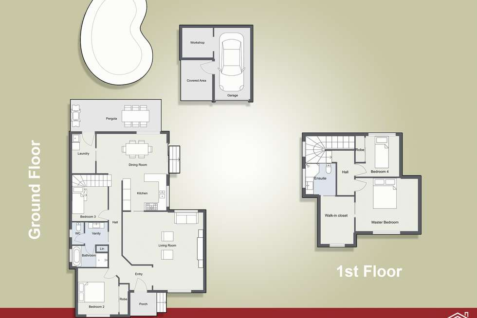 Floorplan of Homely house listing, 87 Cams Boulevard, Summerland Point NSW 2259