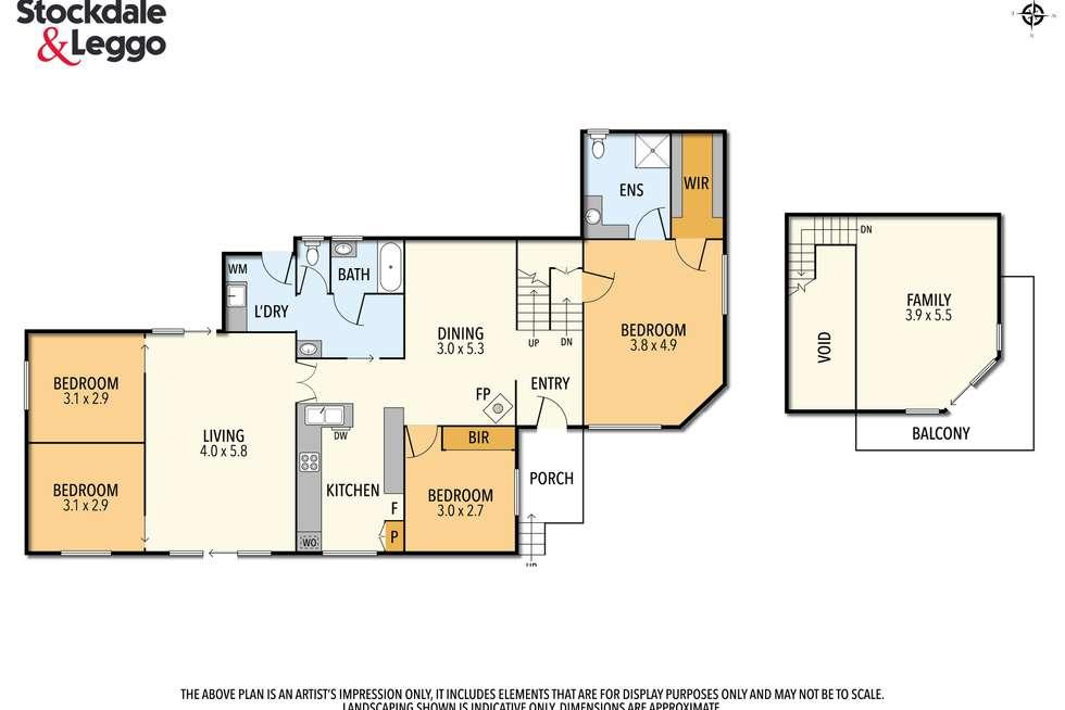 Floorplan of Homely house listing, 7 Sedgman Road, Wimbledon Heights VIC 3922