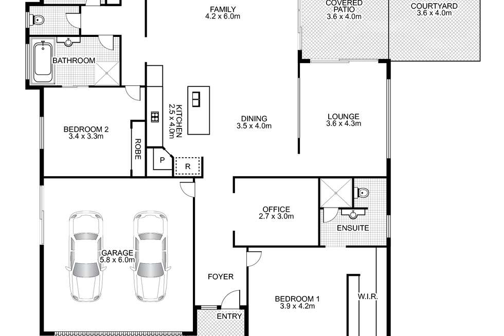 Floorplan of Homely house listing, 32 Maidstone Crescent, Peregian Springs QLD 4573