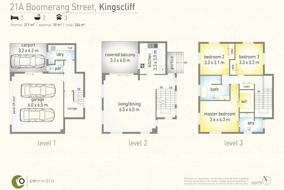Floorplan of Homely house listing, 21 A Boomerang Street, Kingscliff NSW 2487