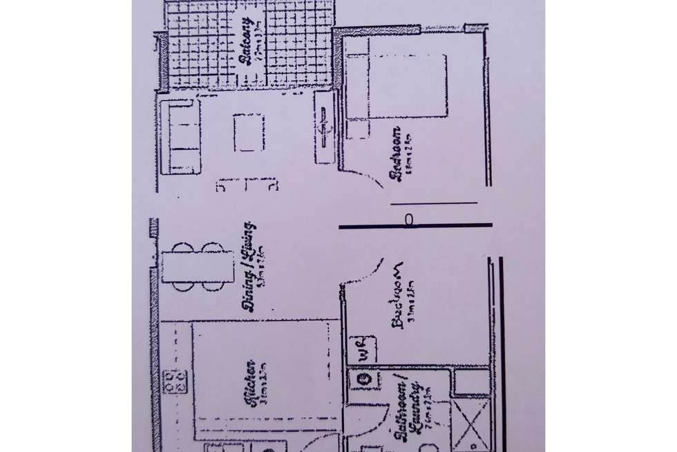 Floorplan of Homely apartment listing, 303/23 Frew Street, Adelaide SA 5000