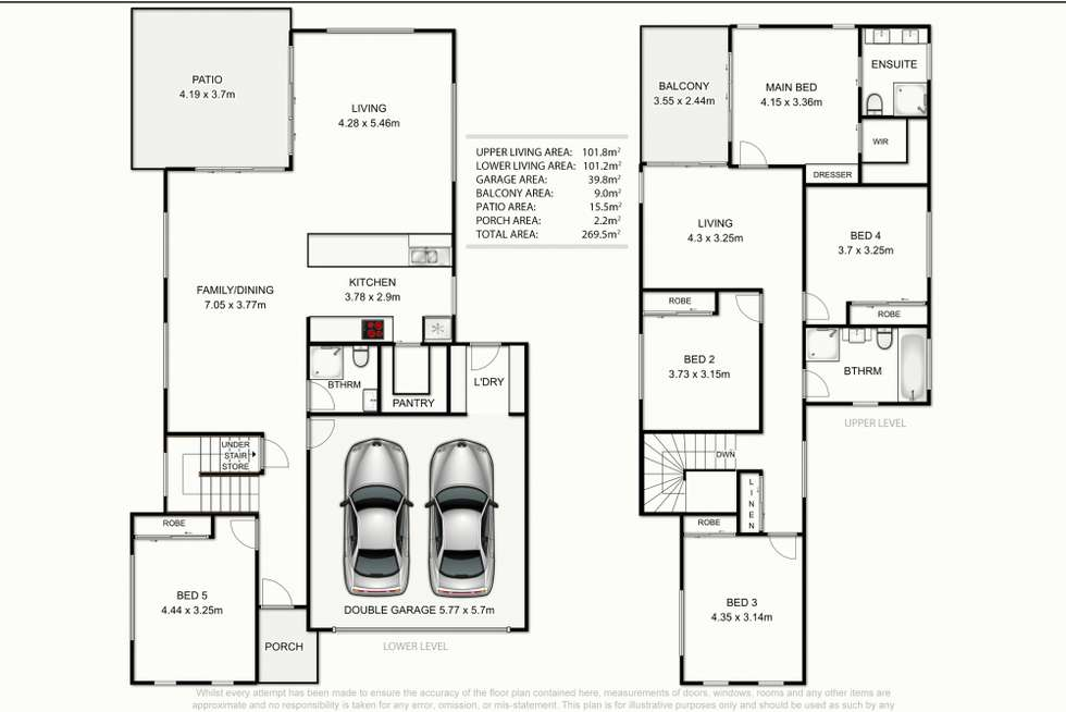 Floorplan of Homely townhouse listing, 10/133 Stannard Road, Manly West QLD 4179