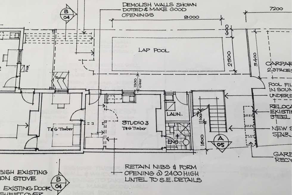Floorplan of Homely unit listing, 3/223b Bridge Road, Glebe NSW 2037