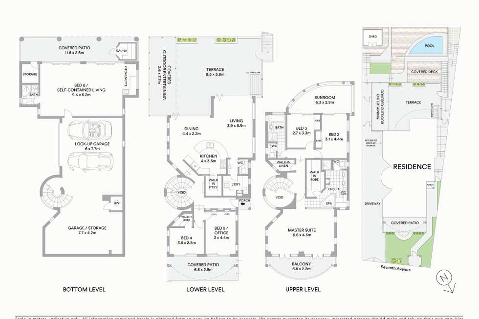 Floorplan of Homely house listing, 61 Seventh Avenue, St Lucia QLD 4067