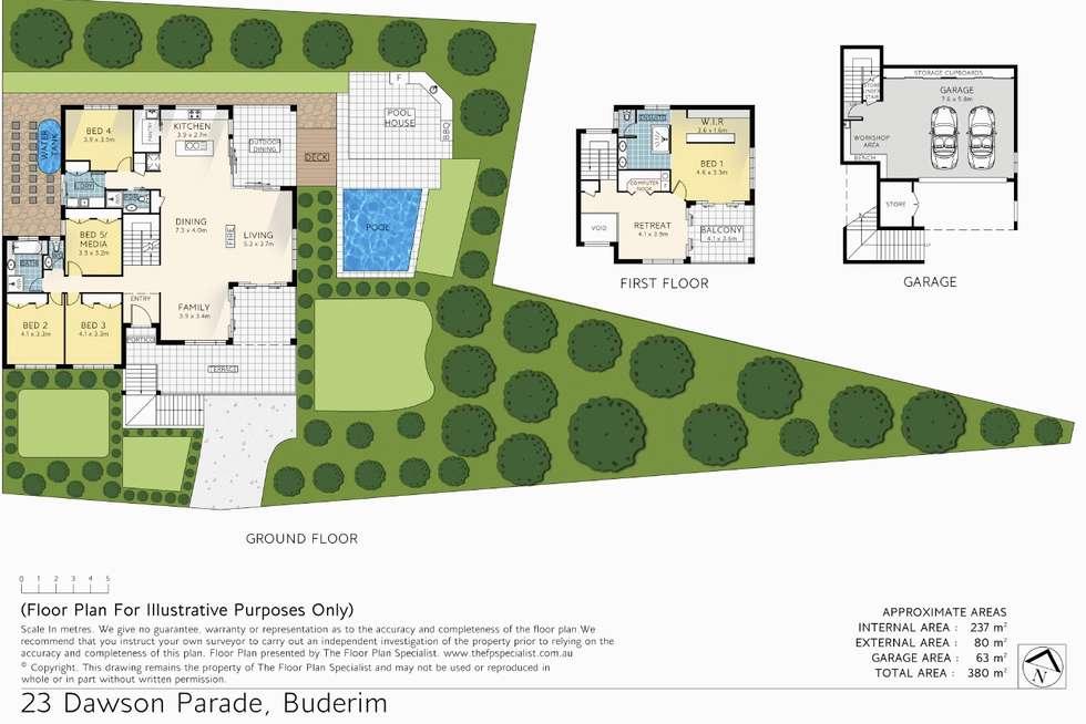 Floorplan of Homely house listing, 23 Dawson Parade, Buderim QLD 4556