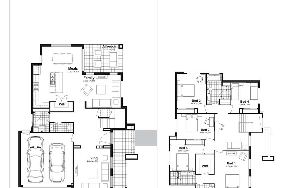 Floorplan of Homely house listing, Lot 209 Nivison Street, Box Hill NSW 2765