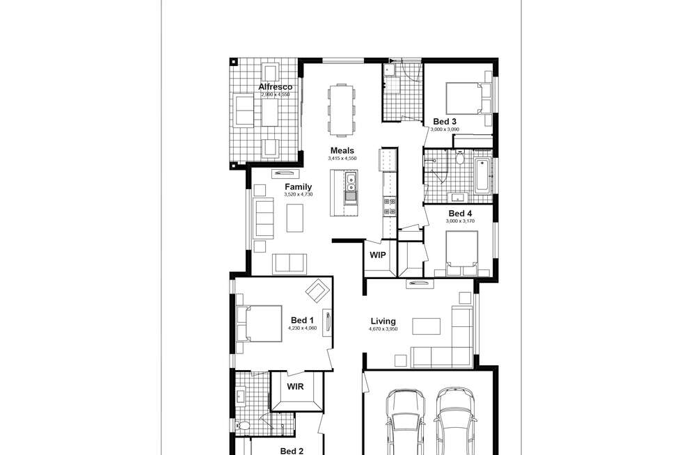 Floorplan of Homely house listing, Lot 701 Parrington Street, Schofields NSW 2762