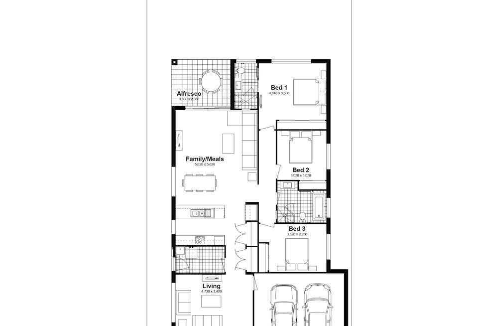 Floorplan of Homely house listing, Lot 703 Parrington Street, Schofields NSW 2762