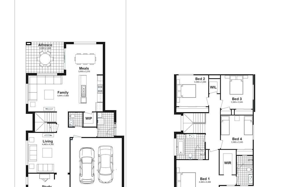 Floorplan of Homely house listing, Lot 6102 Caldwell Avenue, Edmondson Park NSW 2174