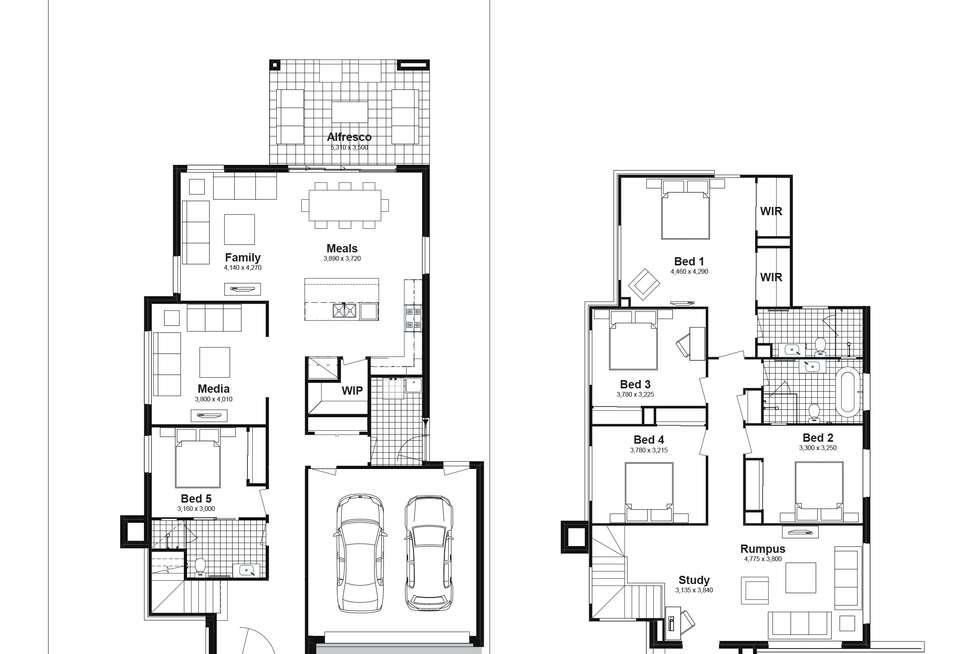 Floorplan of Homely house listing, Lot 812 Narooma Street, Tullimbar NSW 2527