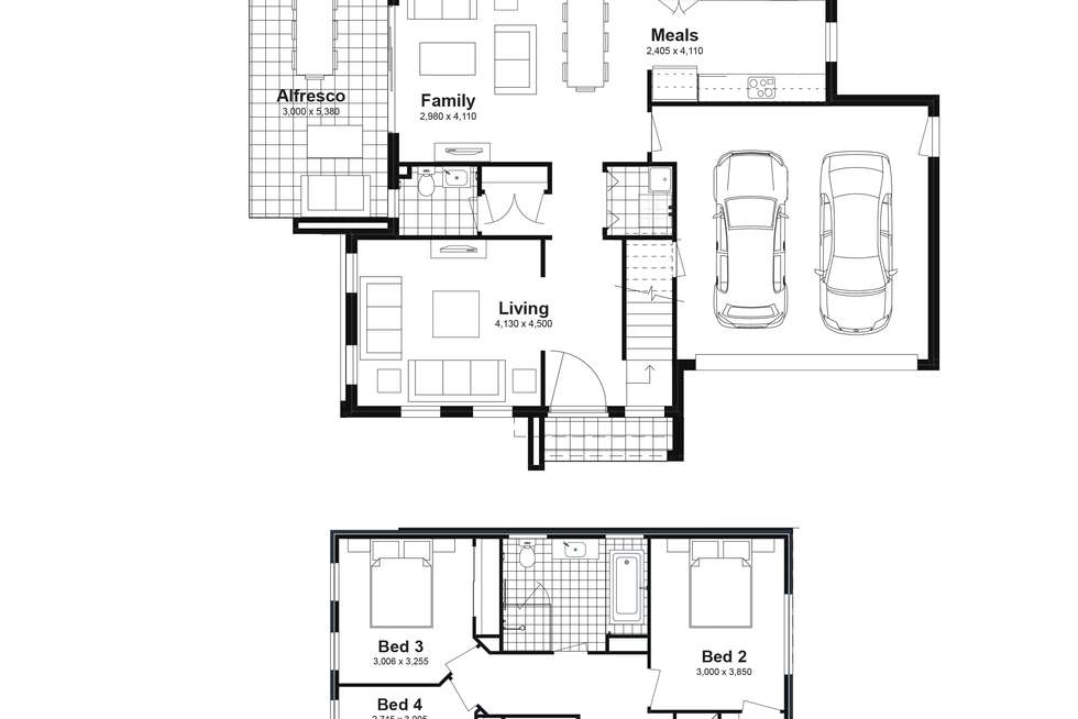 Floorplan of Homely house listing, Lot 32 Felling Street, Box Hill NSW 2765