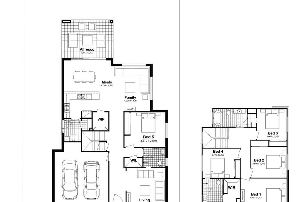 Floorplan of Homely house listing, Lot 209 Leopard Street, Silverdale NSW 2752