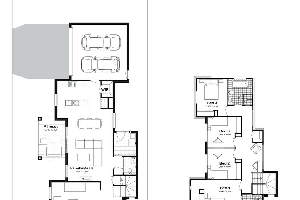 Floorplan of Homely house listing, Lot 345 Corallee Crescent, Marsden Park NSW 2765