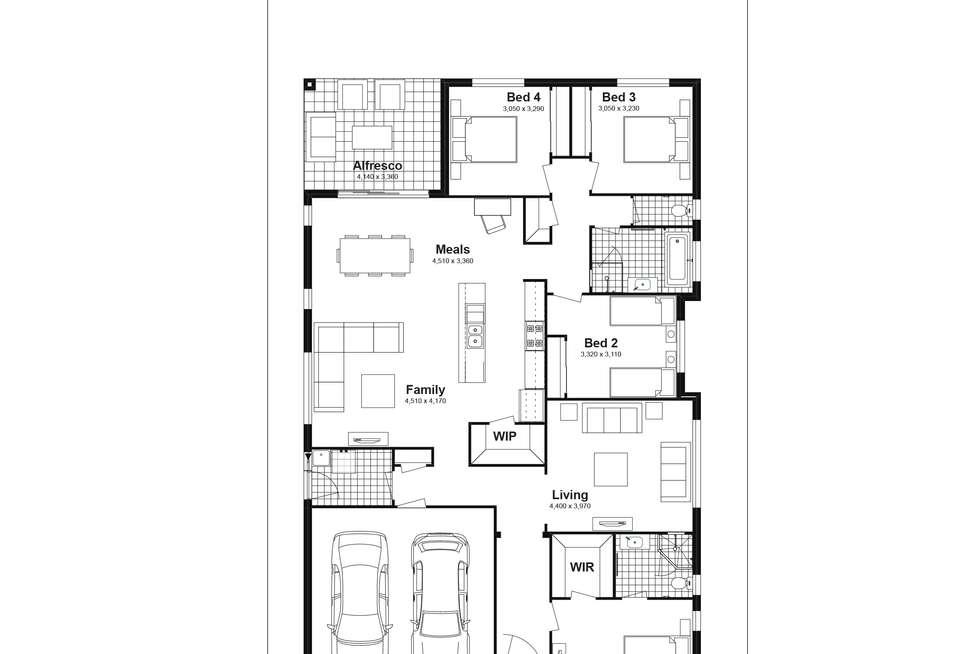 Floorplan of Homely house listing, Lot 627 Caldwell Avenue, Edmondson Park NSW 2174
