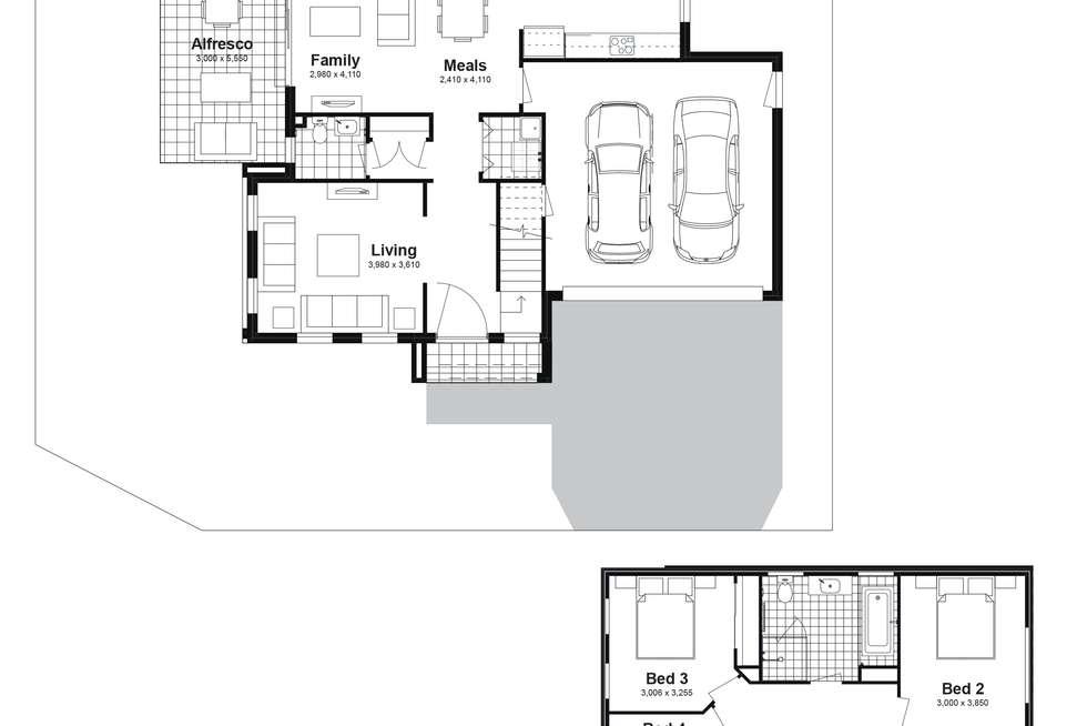 Floorplan of Homely house listing, Lot 54 Brahman Road, Box Hill NSW 2765