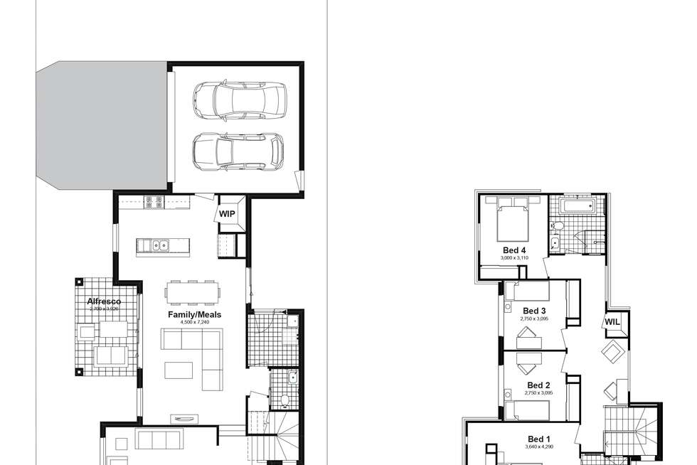 Floorplan of Homely house listing, Lot 710 Canopus Parkway, Box Hill NSW 2765
