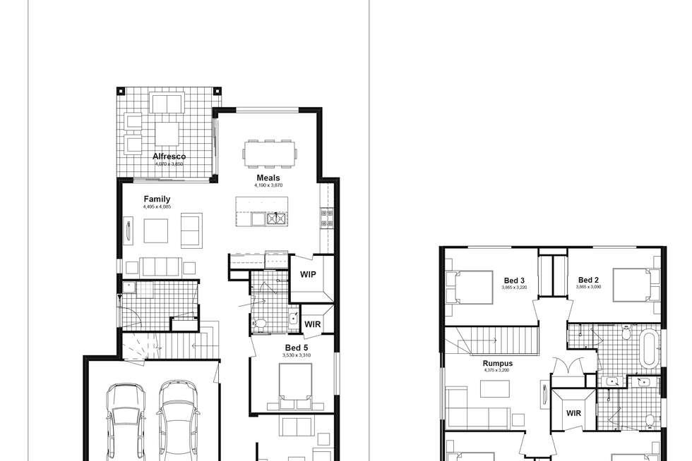 Floorplan of Homely house listing, Lot 624 Caldwell Avenue, Edmondson Park NSW 2174