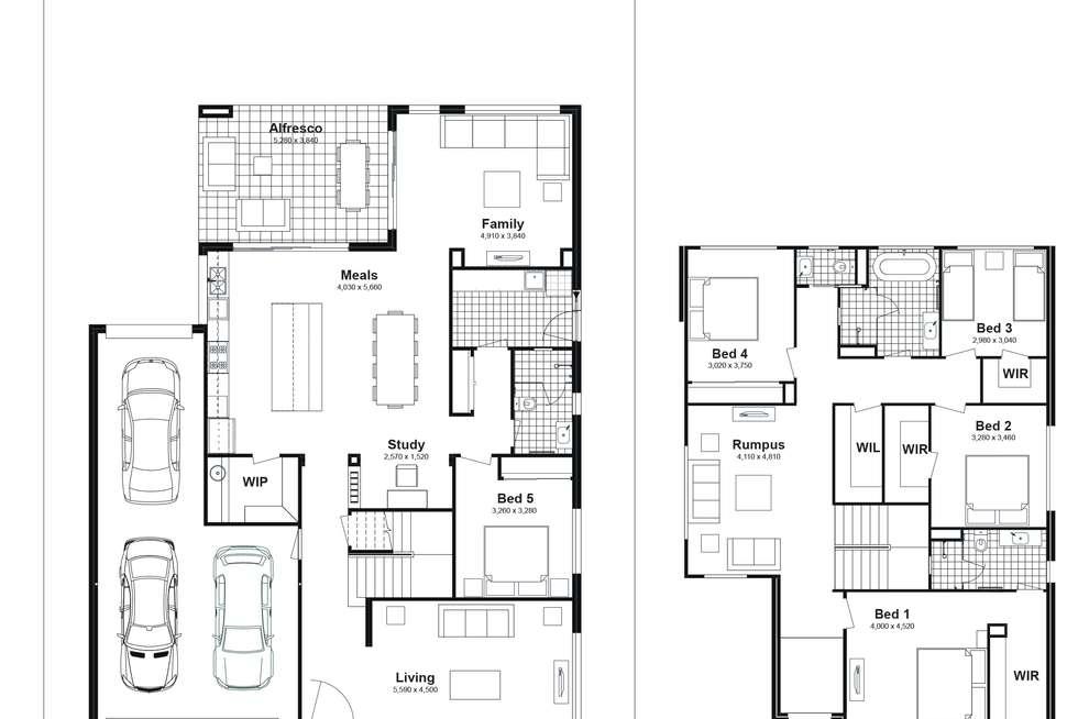 Floorplan of Homely house listing, Lot 625 Caldwell Avenue, Edmondson Park NSW 2174
