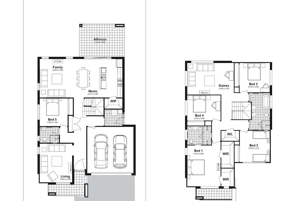 Floorplan of Homely house listing, Lot 802 Balmoral Parade, Tullimbar NSW 2527