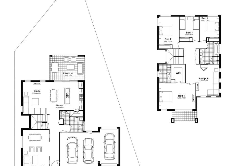 Floorplan of Homely house listing, Lot 806 Balmoral Parade, Tullimbar NSW 2527
