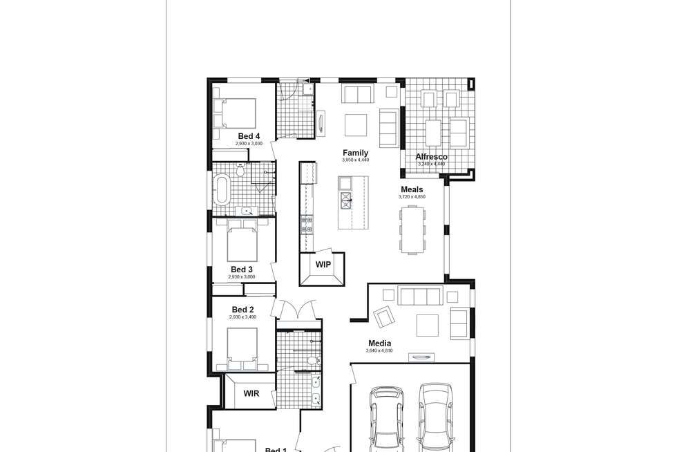 Floorplan of Homely house listing, Lot 2104 Lucan Street, Chisholm NSW 2322