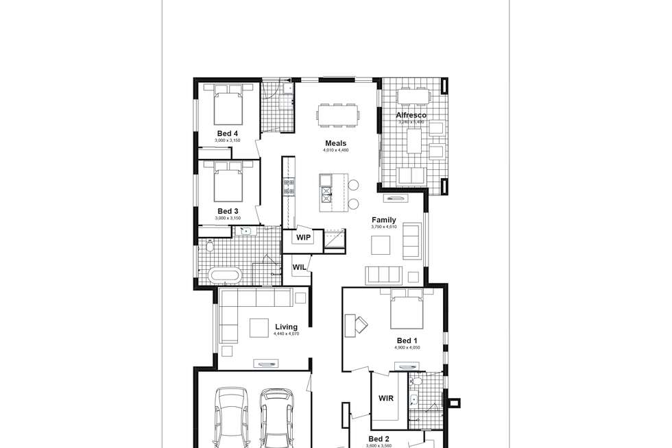 Floorplan of Homely house listing, Lot 2103 Lucan Street, Chisholm NSW 2322
