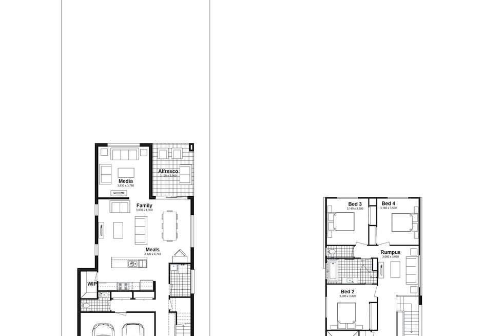 Floorplan of Homely house listing, Lot 704 Poziers Road, Edmondson Park NSW 2174