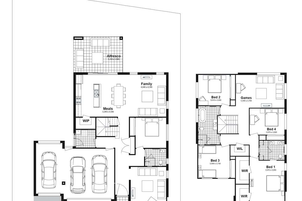 Floorplan of Homely house listing, Lot 805 Balmoral Parade, Tullimbar NSW 2527