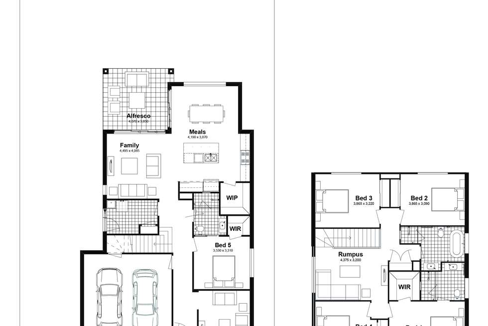 Floorplan of Homely house listing, Lot 304 Chad Street, Silverdale NSW 2752
