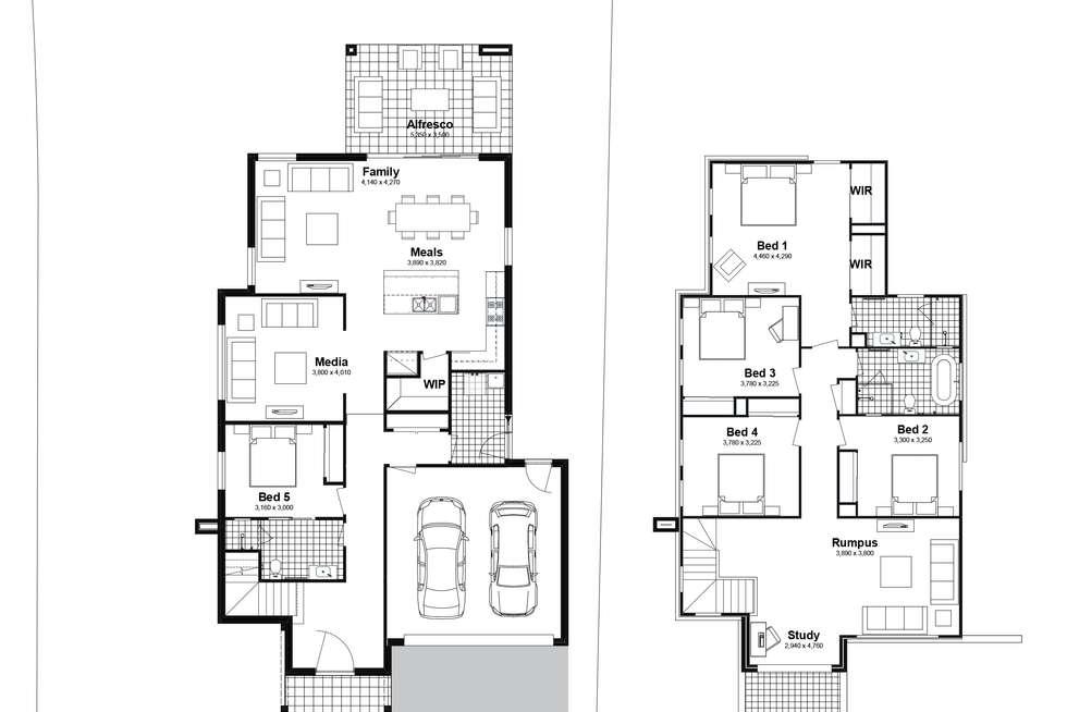 Floorplan of Homely house listing, Lot 212 Leopard Street, Silverdale NSW 2752