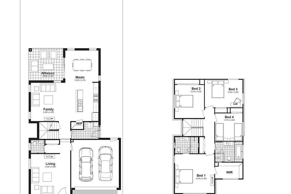 Floorplan of Homely house listing, Lot 714 Canopus Parkway, Box Hill NSW 2765