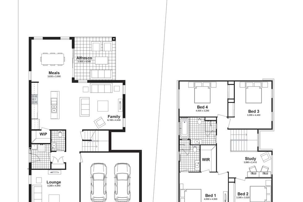 Floorplan of Homely house listing, Lot 341 Corallee Crescent, Marsden Park NSW 2765