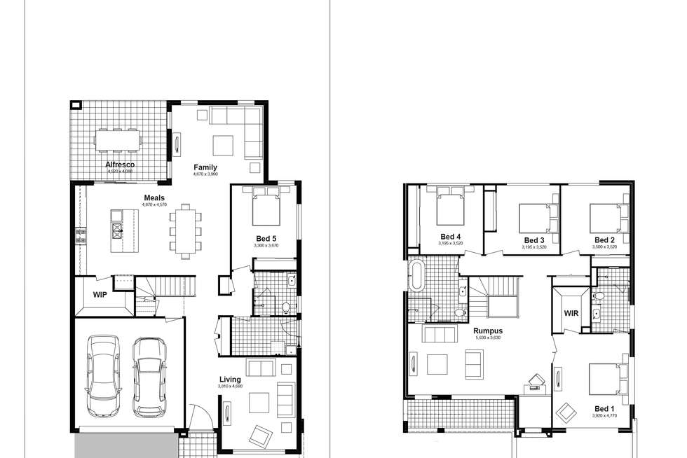 Floorplan of Homely house listing, Lot 332 Brindle Parkway, Box Hill NSW 2765