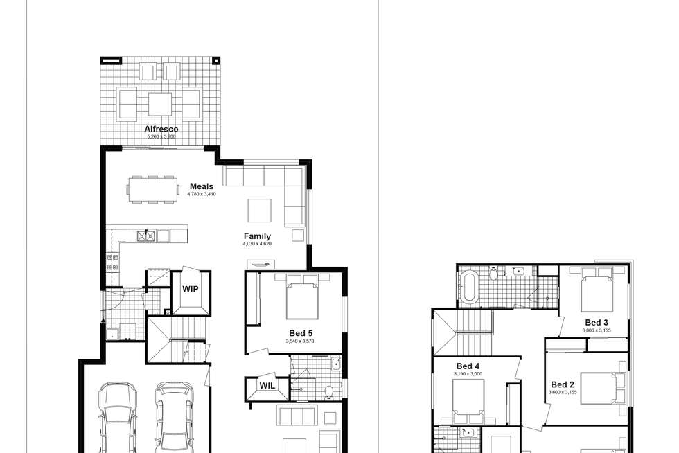 Floorplan of Homely house listing, Lot 333 Brindle Parkway, Box Hill NSW 2765
