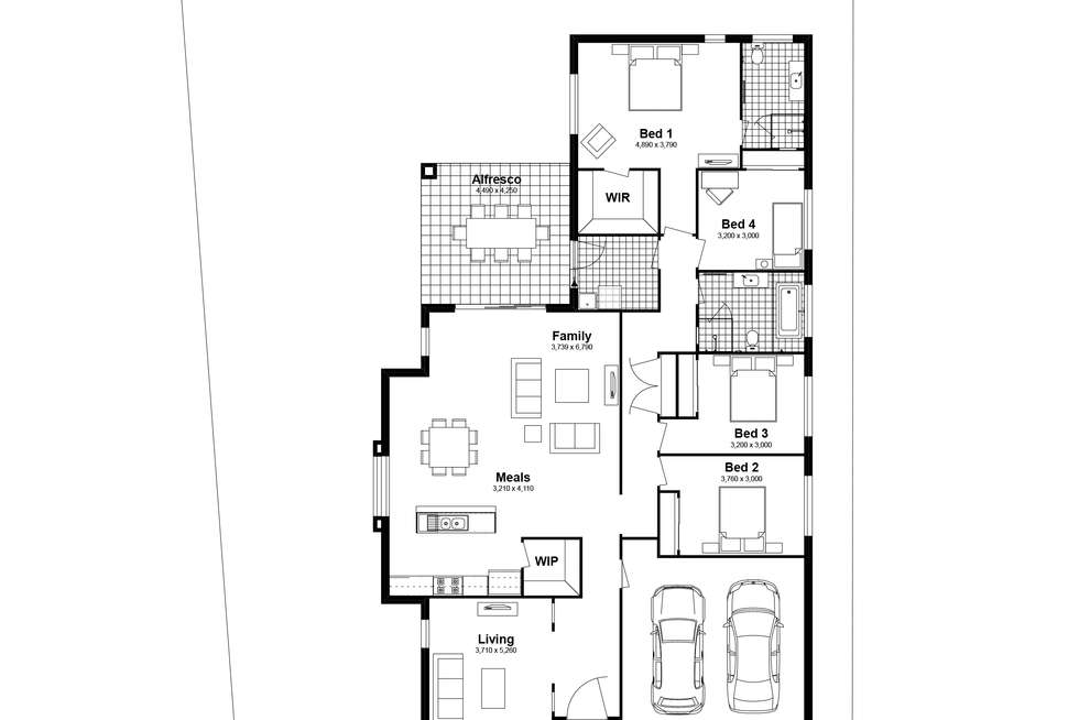 Floorplan of Homely house listing, Lot 2127 Arklow Crescents, Chisholm NSW 2322