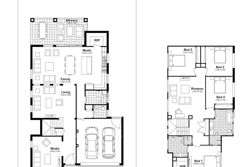 Floorplan of Homely house listing, Lot 622 Caldwell Avenue, Edmondson Park NSW 2174