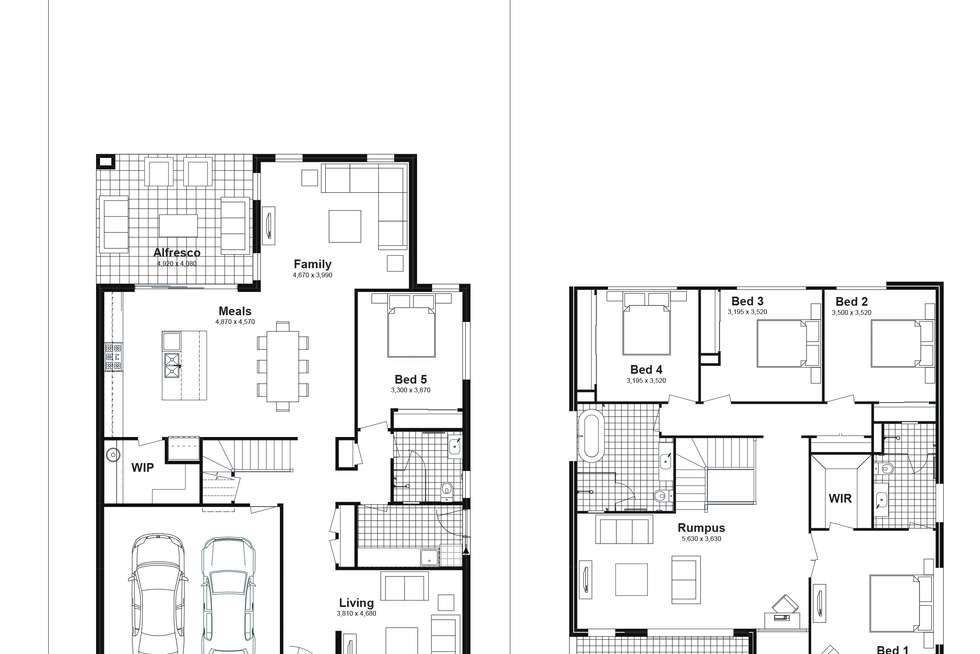 Floorplan of Homely house listing, Lot 621 Caldwell Avenue, Edmondson Park NSW 2174