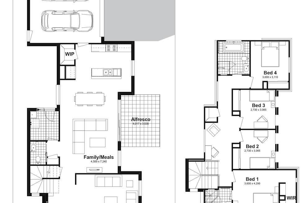 Floorplan of Homely house listing, Lot 506 Bodalla Street, Tullimbar NSW 2527