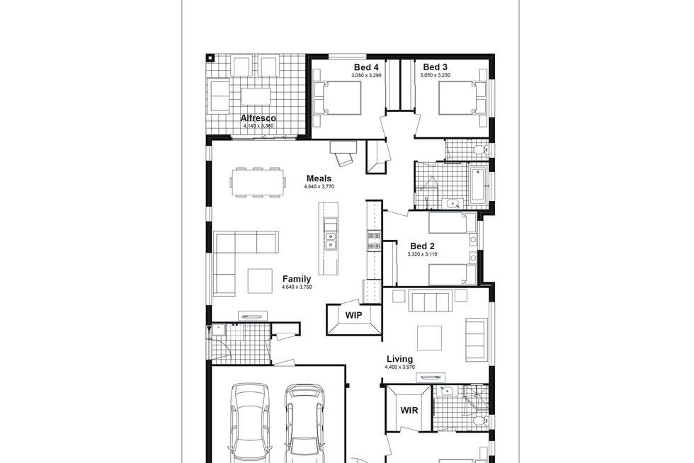 Floorplan of Homely house listing, Lot 210 Tansey Street, Woongarrah NSW 2259