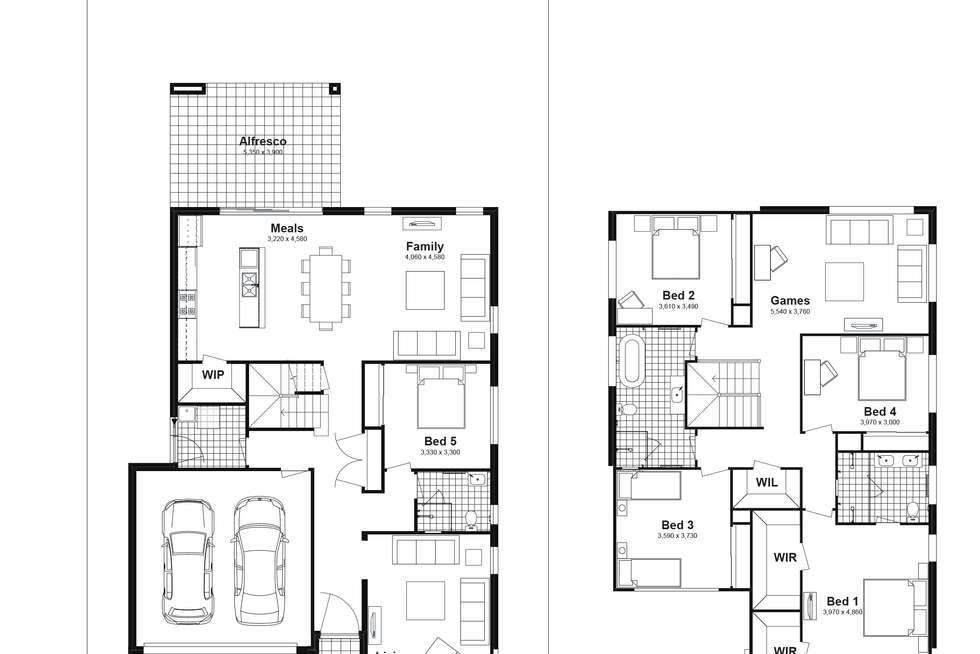 Floorplan of Homely house listing, Lot 618 Caldwell Avenue, Edmondson Park NSW 2174