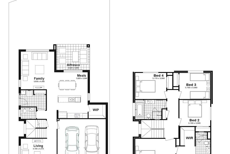 Floorplan of Homely house listing, Lot 361 Westbrook Circuit, Marsden Park NSW 2765