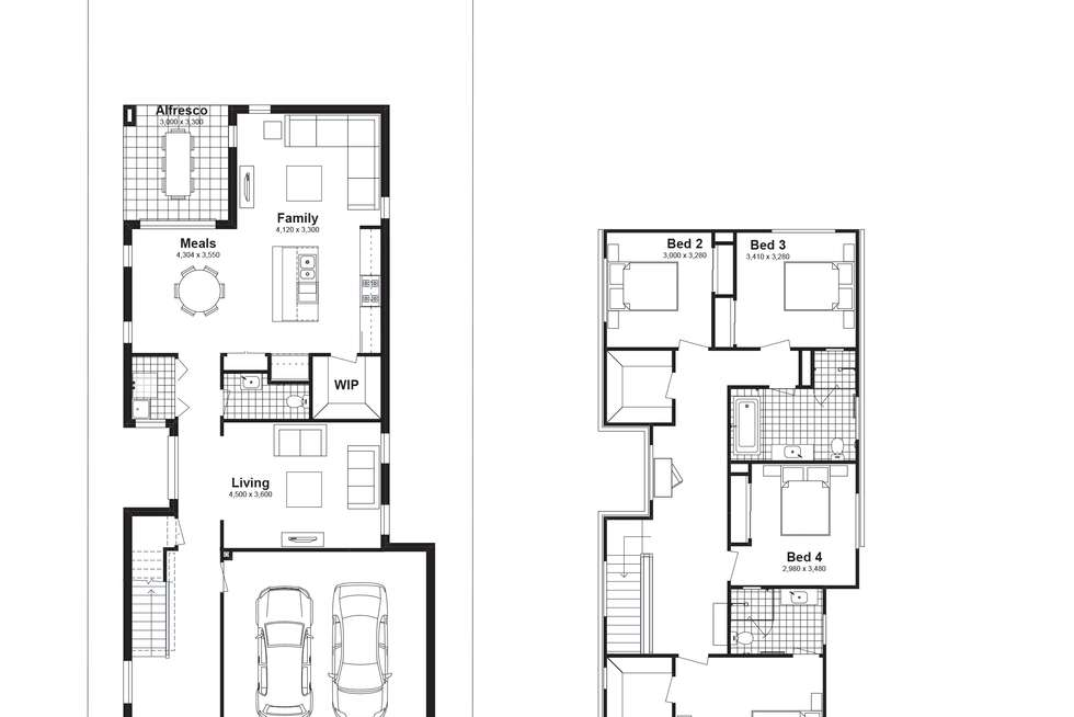 Floorplan of Homely house listing, Lot 318 Dressage Street, Box Hill NSW 2765