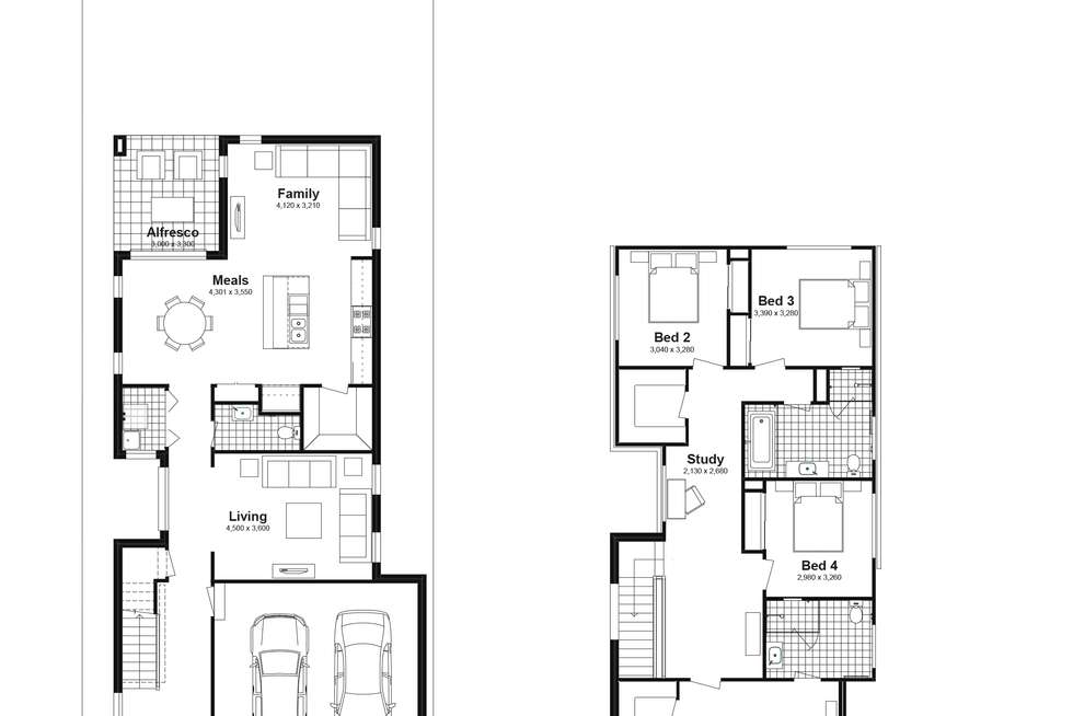Floorplan of Homely house listing, Lot 725 Canopus Parkway, Box Hill NSW 2765