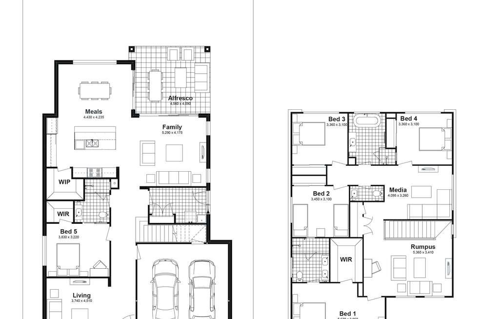 Floorplan of Homely house listing, Lot 719 Sandakan Street, Edmondson Park NSW 2174