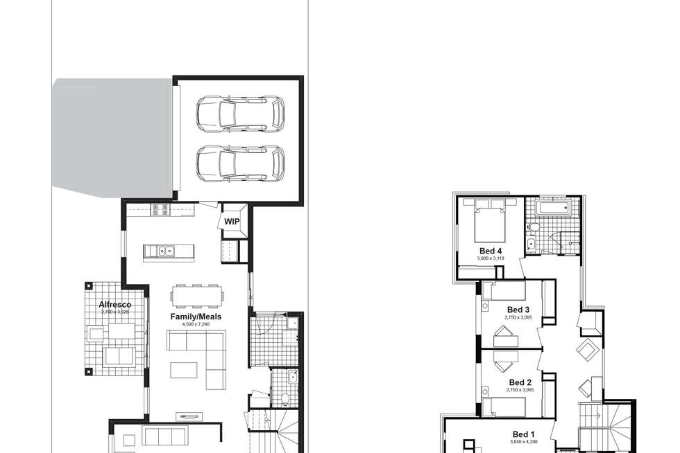 Floorplan of Homely house listing, Lot 722 Canopus Parkway, Box Hill NSW 2765