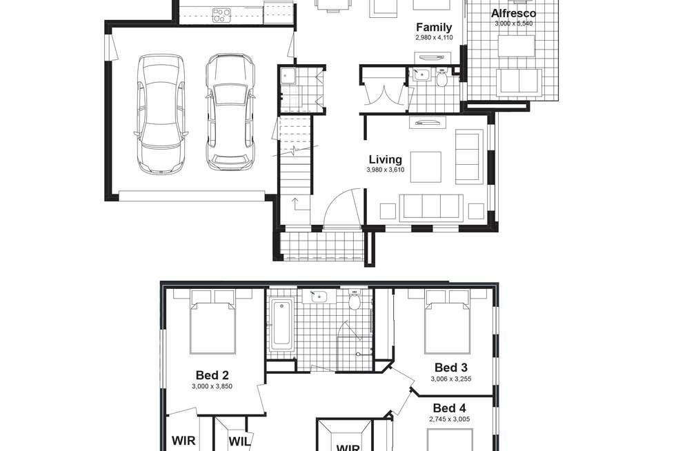 Floorplan of Homely house listing, Lot 46 Zebu Street, Box Hill NSW 2765