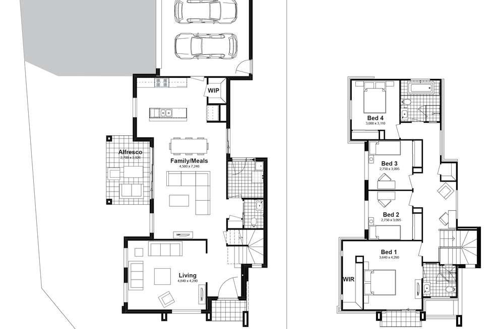 Floorplan of Homely house listing, Lot 282 Abell Road, Marsden Park NSW 2765