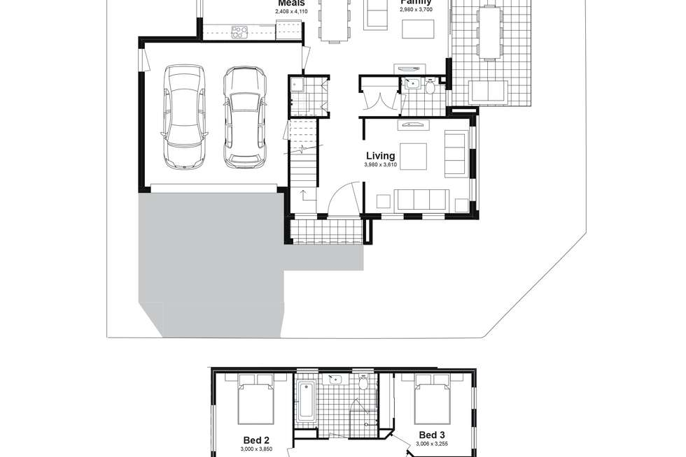 Floorplan of Homely house listing, Lot 62 Pimlico Street, Box Hill NSW 2765