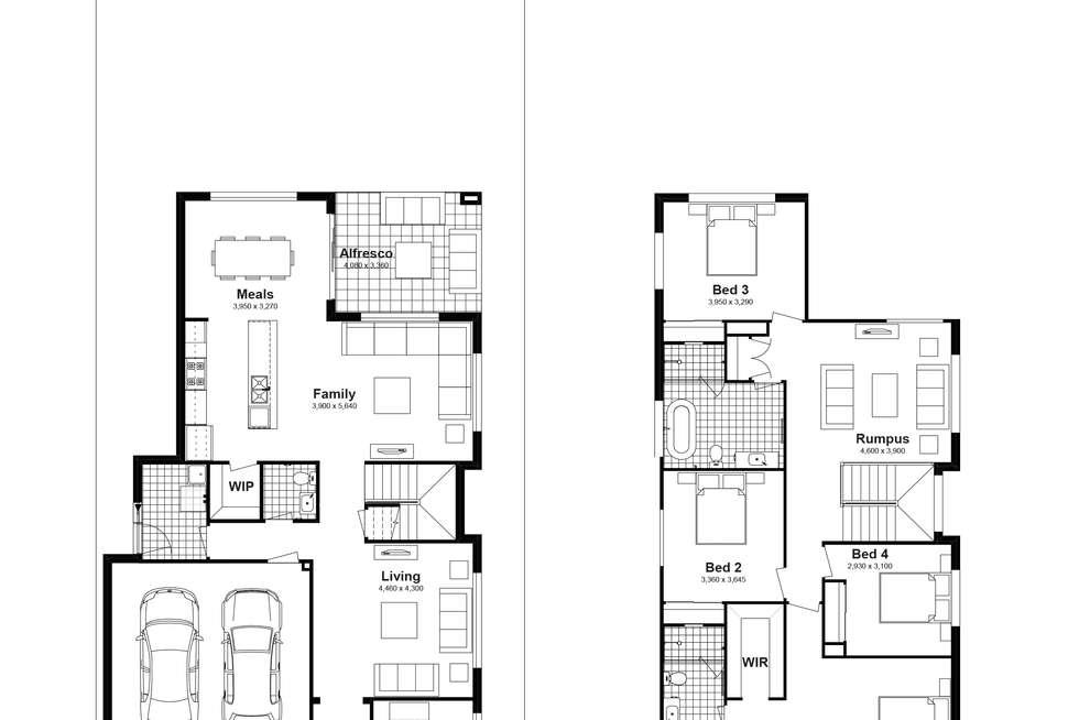 Floorplan of Homely house listing, Lot 722 Sandakan Street, Edmondson Park NSW 2174